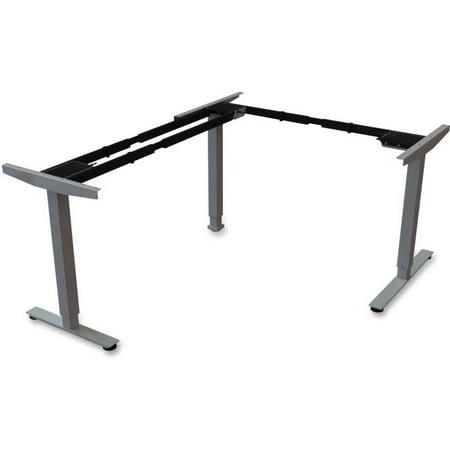 Sit & Stand Desk Silver Thirdleg Add on Kit - Black - image 1 of 1