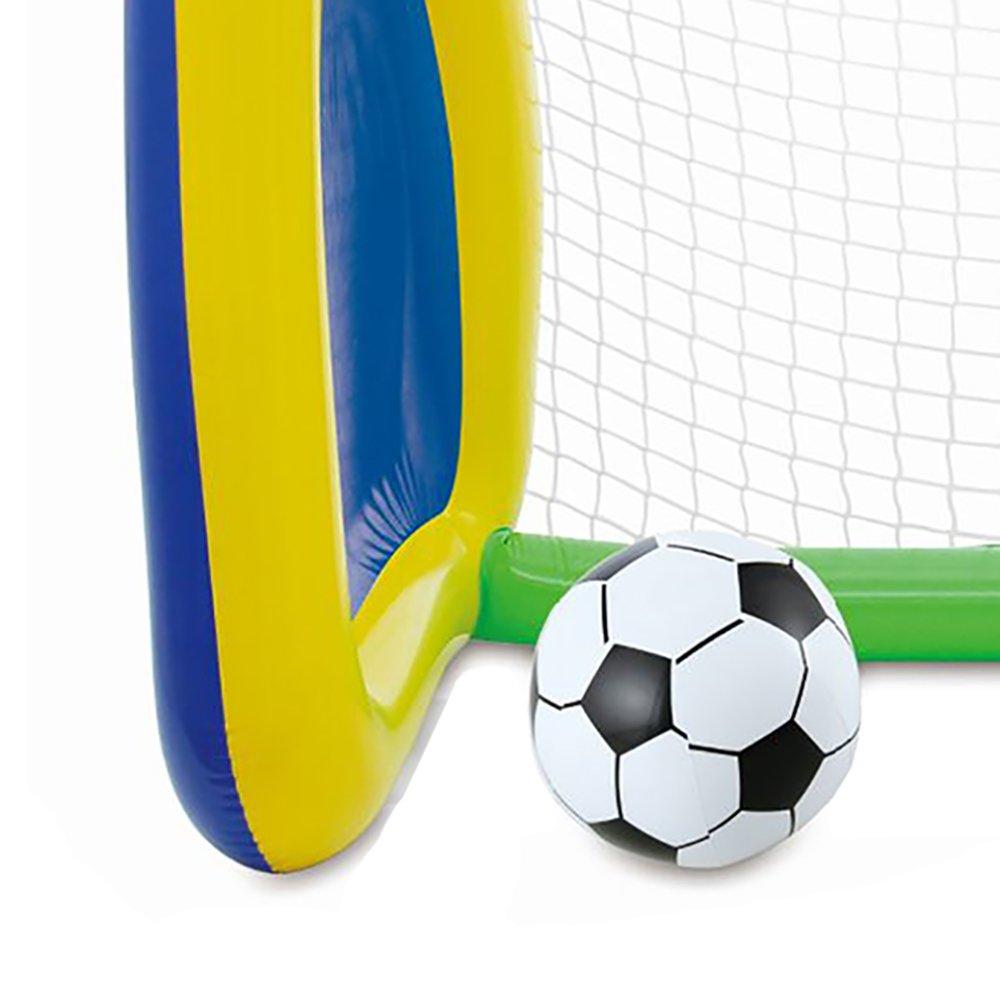Big Play Sports Jumbo Inflatable Swimming Pool Goal and Ball Soccer Sports Set - image 5 de 6
