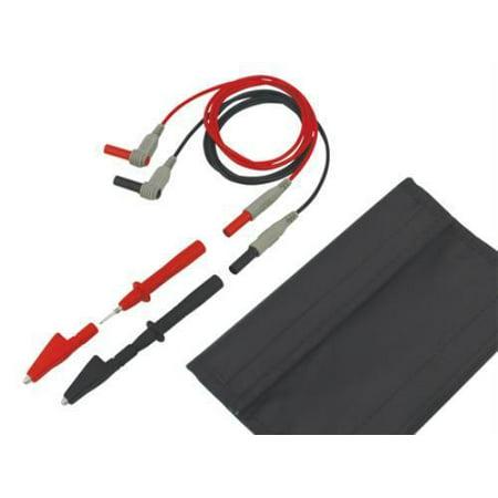 Tenma Basic Dmm Test Lead Kit, Accessory Kit, Multimeter, 1m Black & Red