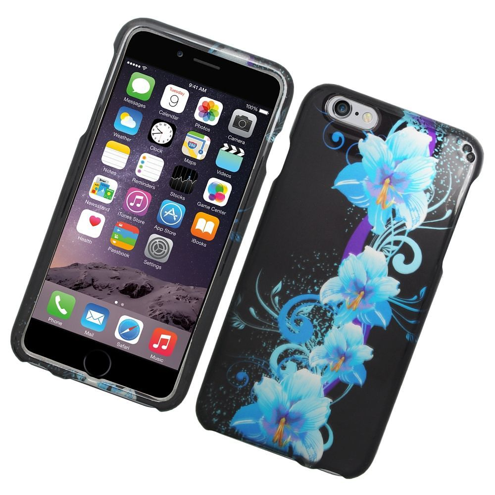 the iphone 6s insten flowers rubber coated for iphone 6s plus 3557