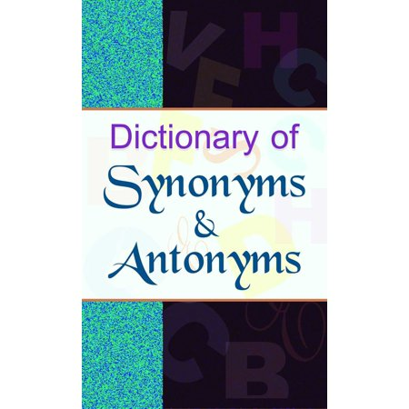 Dictionary of Synonyms & Antonyms - eBook](Nose Synonym)