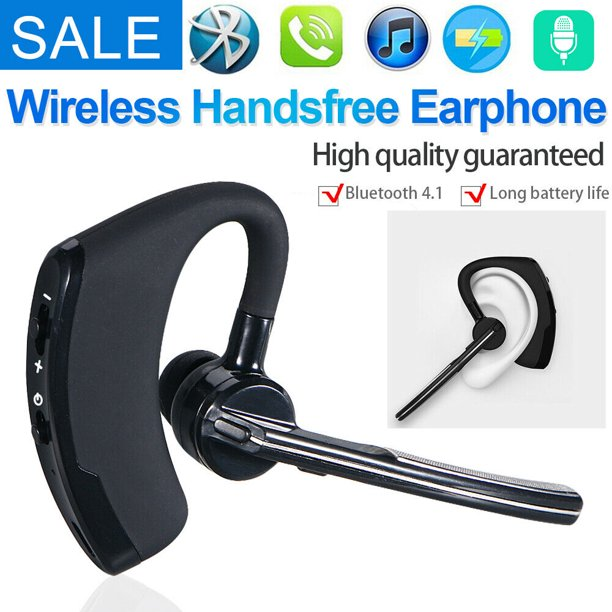 Bluetooth Headset Wireless Bluetooth Earpiece Compatible With Android Iphone Smartphones Laptop 16 Hrs Playing Time V5 0 Bluetooth Earbuds Wireless Headphones With Noise Cancelling Mic Walmart Com Walmart Com