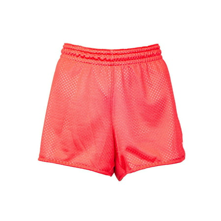 Nike Womens Mesh Running Shorts Red 542215-613