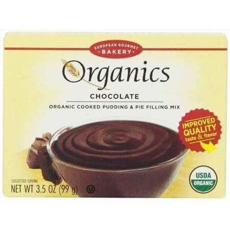 12 Pack :       Dr.oetker Organic Pudding Mix, Chocolate, 3.5 Ounce