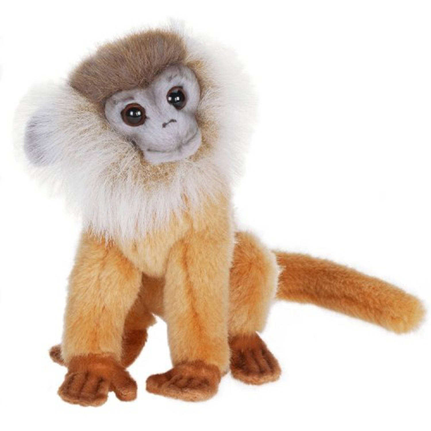 Hansa Brown Leaf Monkey Plush Toy