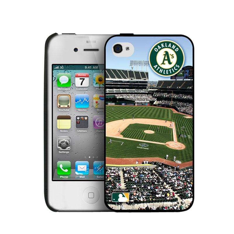 Iphone 4/4S Hard Cover Case - Oakland A's Oakland Athletics PANGBBOAKIP4BP