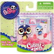 Littlest Pet Shop Cutest Pets Mommy & Baby Penguins Figure 2-Pack
