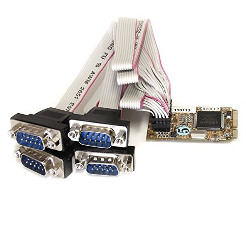 Startech Add Four Rs232 Serial Ports To An Embedded System Through A Mini Pci Express Slo