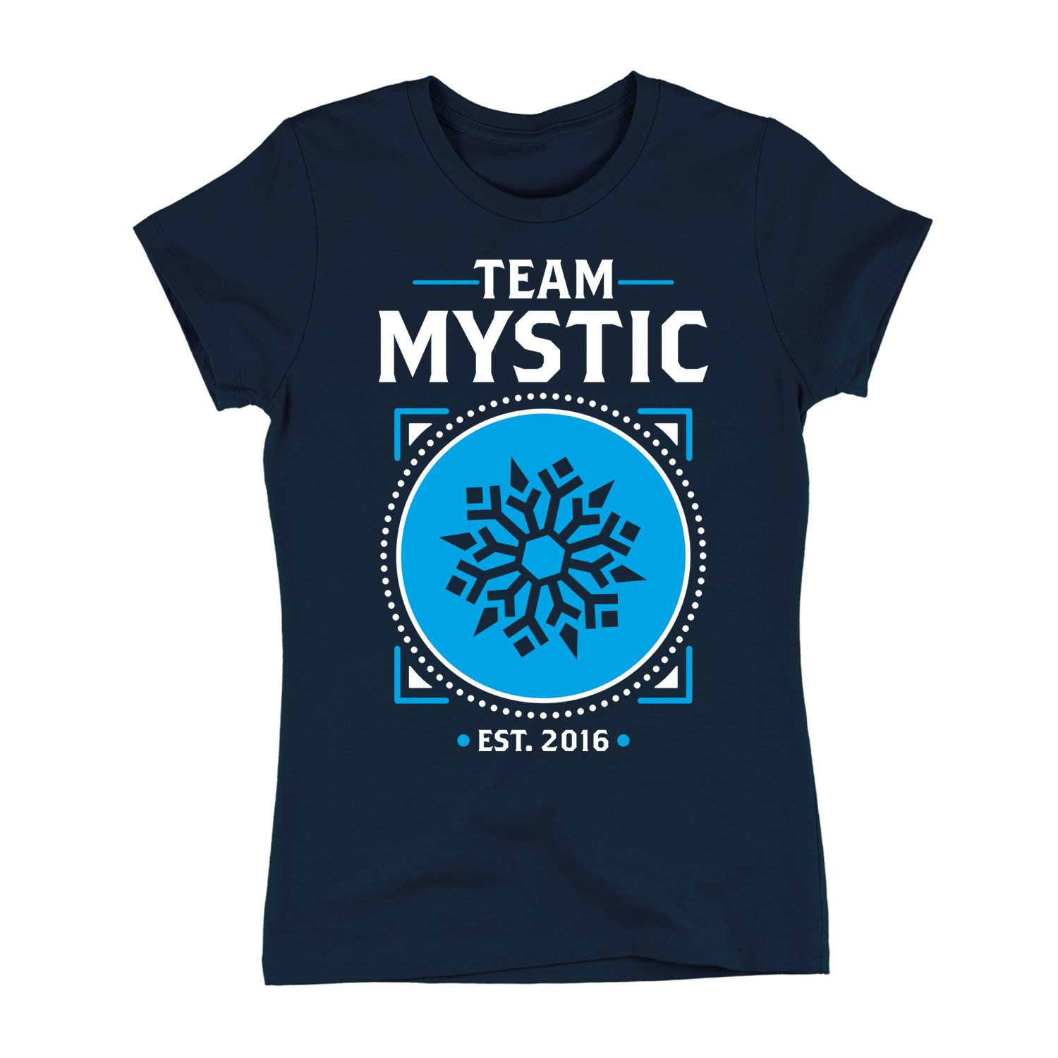 Team Mystic-Adult LADIES SHORT SLEEVE TEE