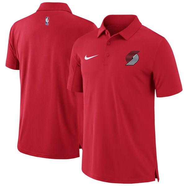 Portland Trail Blazers Nike Men's Dri Fit Core Performance Polo Shirt Medium