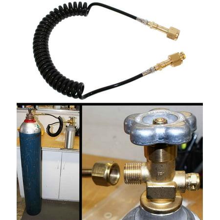 CO2 Fill hose for Draft Beer Dispenser Homebrew CO2 Tanks.