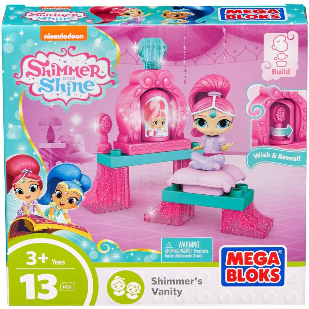Mega Bloks Nickelodeon Shimmer and Shine, Shimmer'S Vanity by MATTEL INC.
