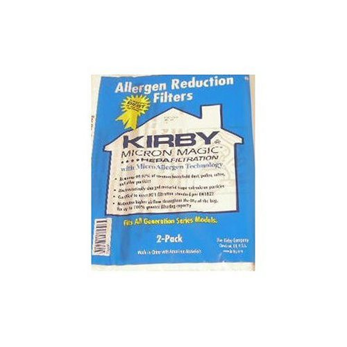 Kirby Allergen Reduction Vacuum Bags (2pk) Genuine