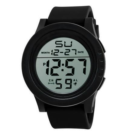 Mosunx LED Waterproof Digital Quartz Fashion Watch Military Sport