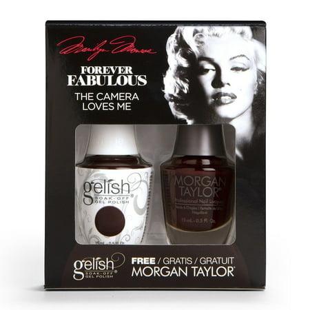 Gelish Gel Polish + Morgan Taylor Nail Polish Forever Fabulous Collection Duo #1410328 The Camera Loves Me