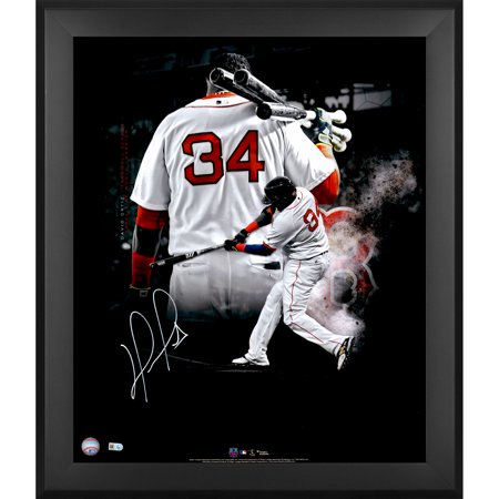 David Ortiz Boston Red Sox Fanatics Authentic Framed Autographed 20