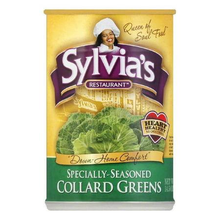 Sylvia's Collard Greens, 14.5 OZ (Pack of 12) (Best Way To Cook Frozen Collard Greens)