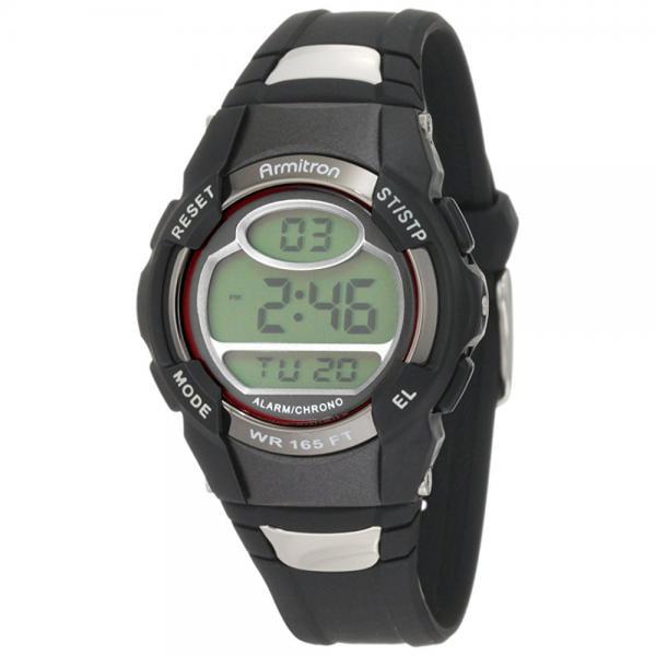 Armitron Sport Unisex 45/6975RED Chronograph Black Digita...