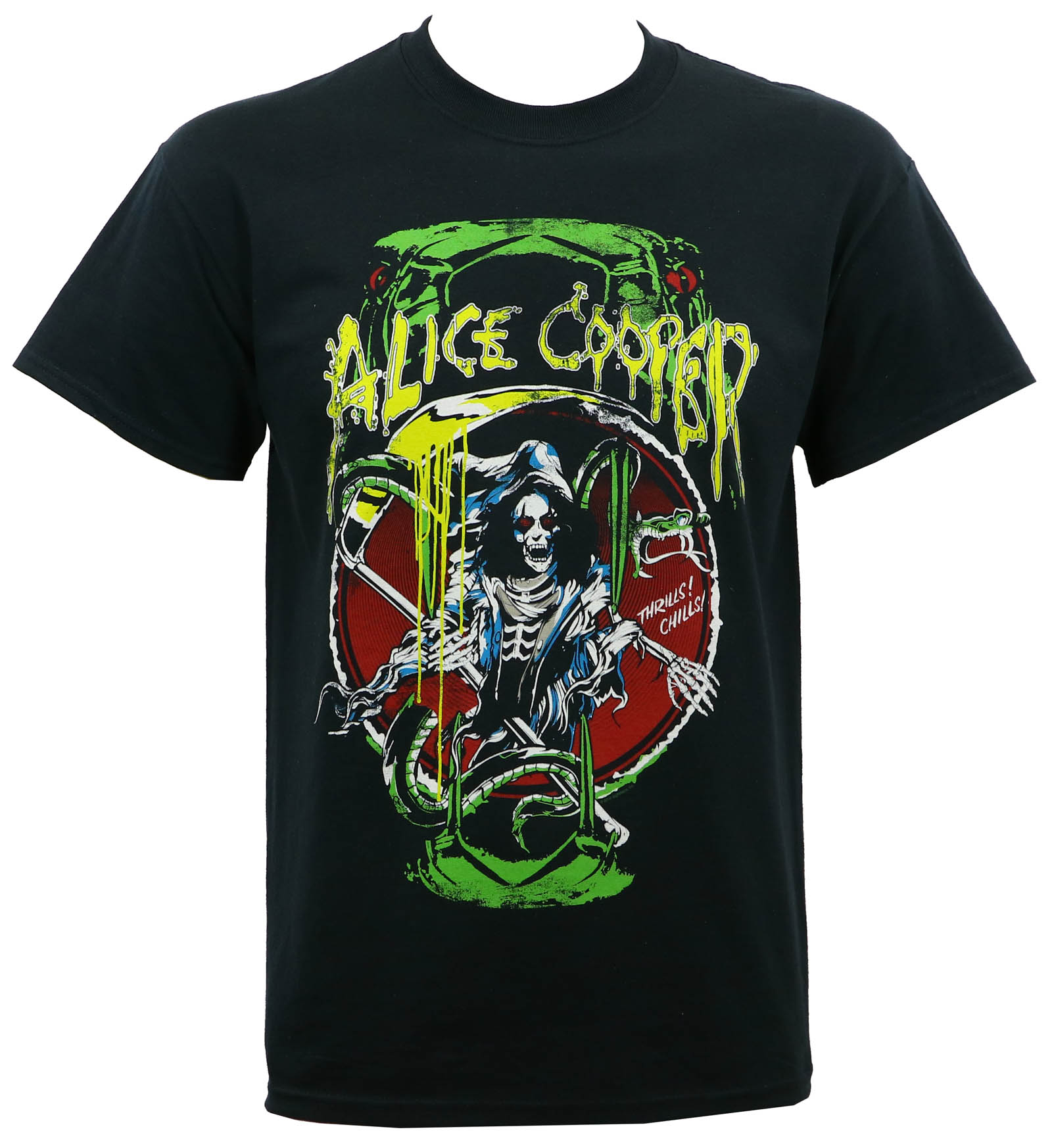 Alice Cooper Men's Reaper Raise The Dead T-Shirt Black