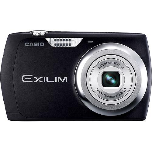 "Casio Exilim EX-S8 Black 12MP Digital Camera, 4X Optical Zoom 2.7"" LCD, VGA Video"