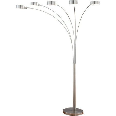 Artiva usa micah 883939 led arched floor lamp walmartcom for Micah 88 arch floor lamp with dimmer function