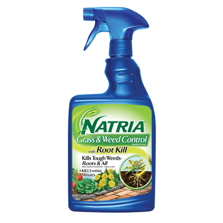 Natria Grass & Weed with Root Kill 24 oz RTU