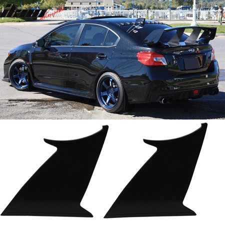 2PC Fits 15-19 Subaru WRX STI ABS Trunk Spoiler Wing Stabilizer Support Add