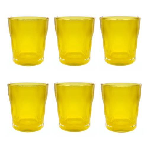 Latitude Run Southmead Old Fashioned 14 oz. Plastic Every Day Glass (Set of 6)