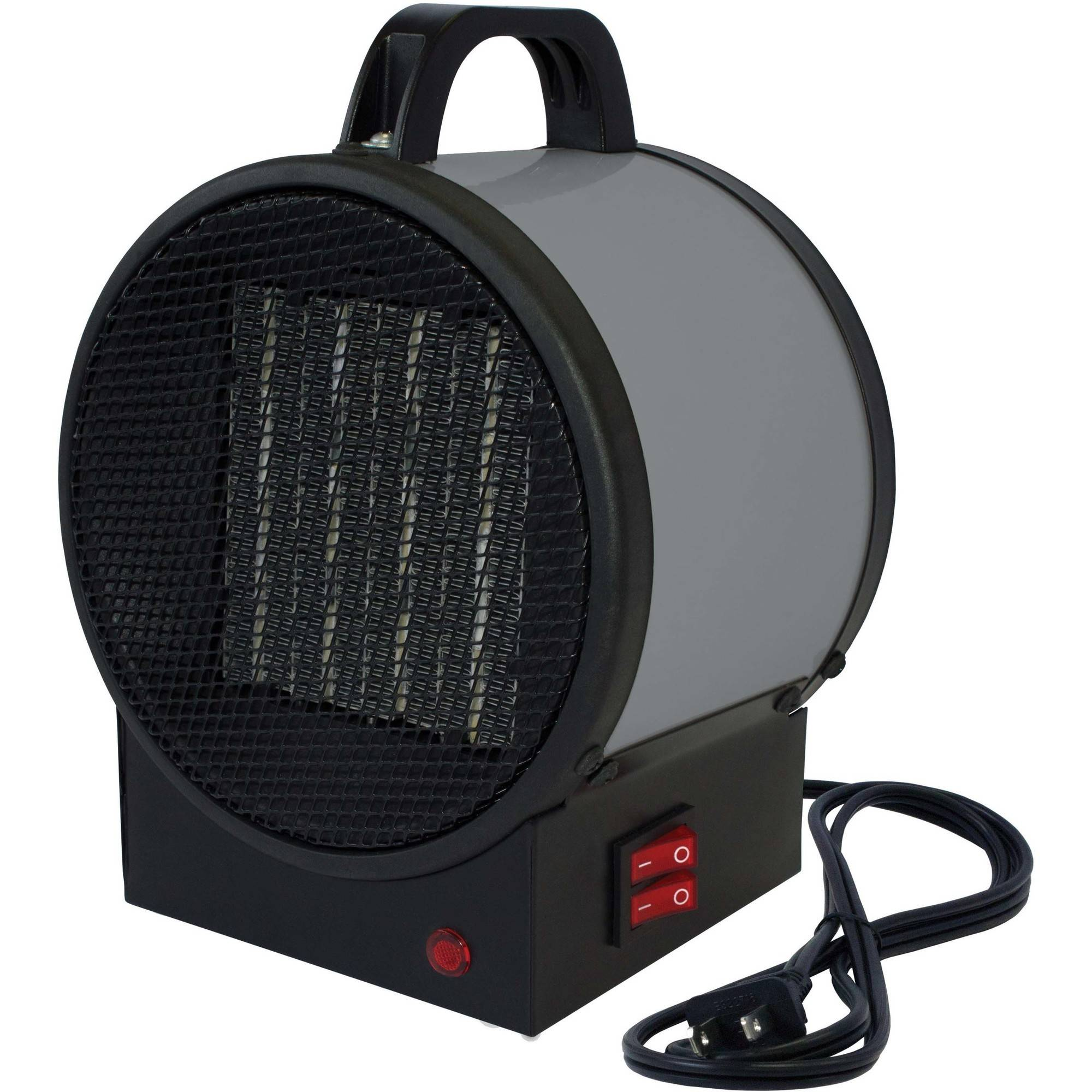 King PUH1215T 120V 1500W Small Portable Utility Heater, Grey