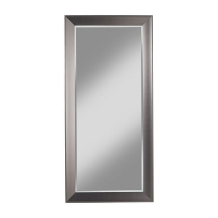 Contemporary Mirror Collection (Sandberg Furniture Contemporary Silver Full Length 65