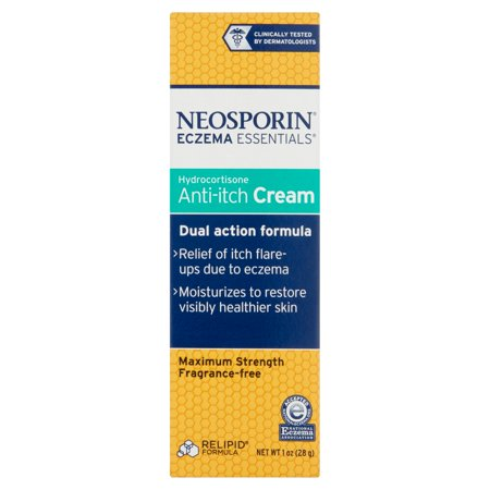 Neosporin Eczema Essentials Maximum Strength Hydrocortisone