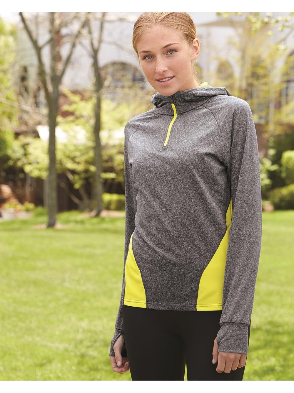 Augusta Sportswear Fleece Women's Freedom Hooded Pullover Sweatshirt