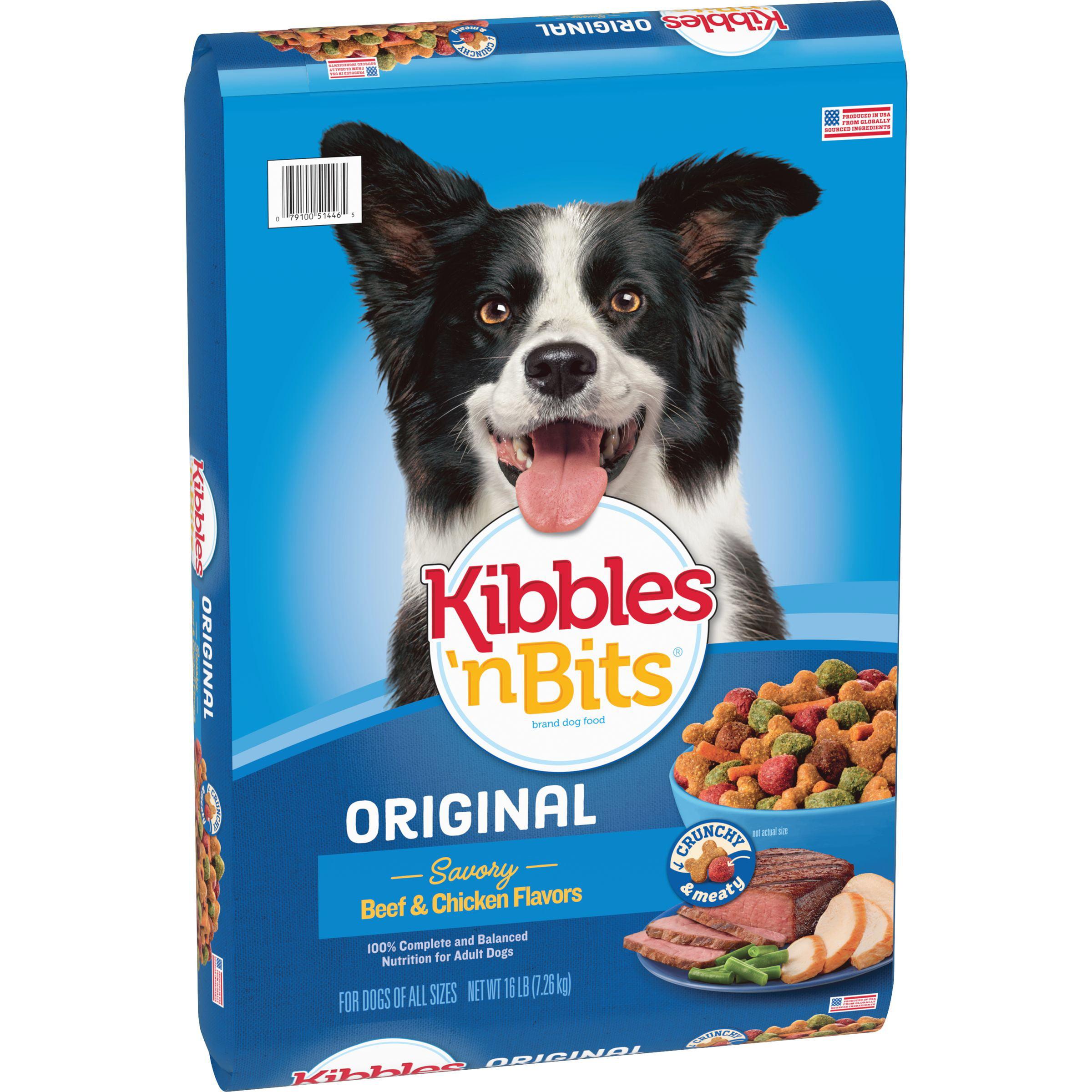Kibbles 'n Bits Original Dry Dog Food, 16-Pound