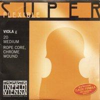 "Thomastik-Infeld Superflexible up to 16.5"" Viola G String - Medium Gauge - Chrome Wound Rope Core"