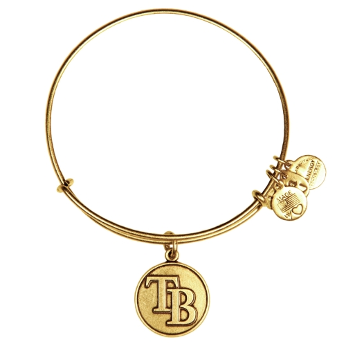 Tampa Bay Rays Alex and Ani Women's Bracelet - Gold - No Size