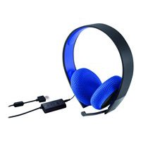 Sony Silver Wired Stereo Headset - Headset - full size
