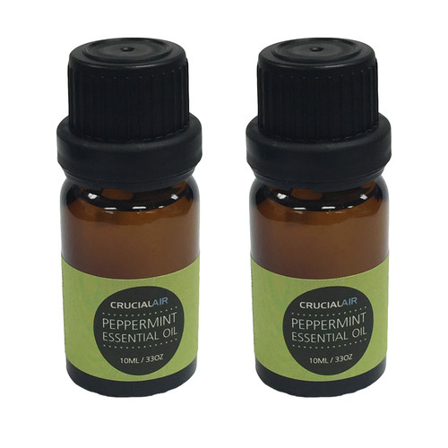 Crucial Sweet Peppermint Infused Essential Oil for Aromatherapy (Set of 2)