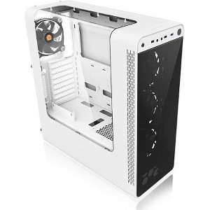 Thermaltake View 27 Snow ATX Mid Tower Gaming Computer Case