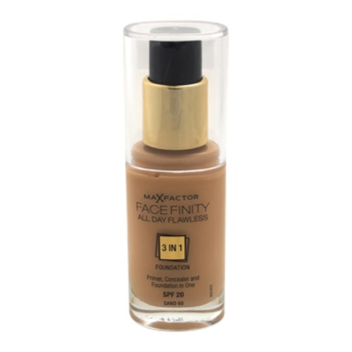 Facefinity All Day Flawless 3 In 1 Foundation SPF20 - # 60 Sand by Max Factor for Women - 30 ml Foundation - image 2 of 3
