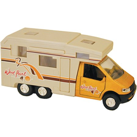 Prime Products 27-0005 Mini Motor Home Camper RV Trailer Slide Out Awnings Toy Model
