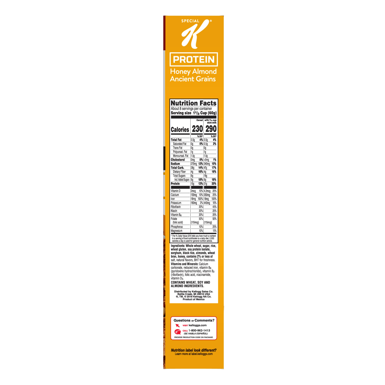 Protein Honey Almond Ancient Grains