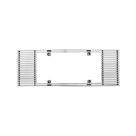 Edge Billet - IPCW CWL-433A 4mm BILLET LICENSE PLATE FRAME STRAIGHT EDGE