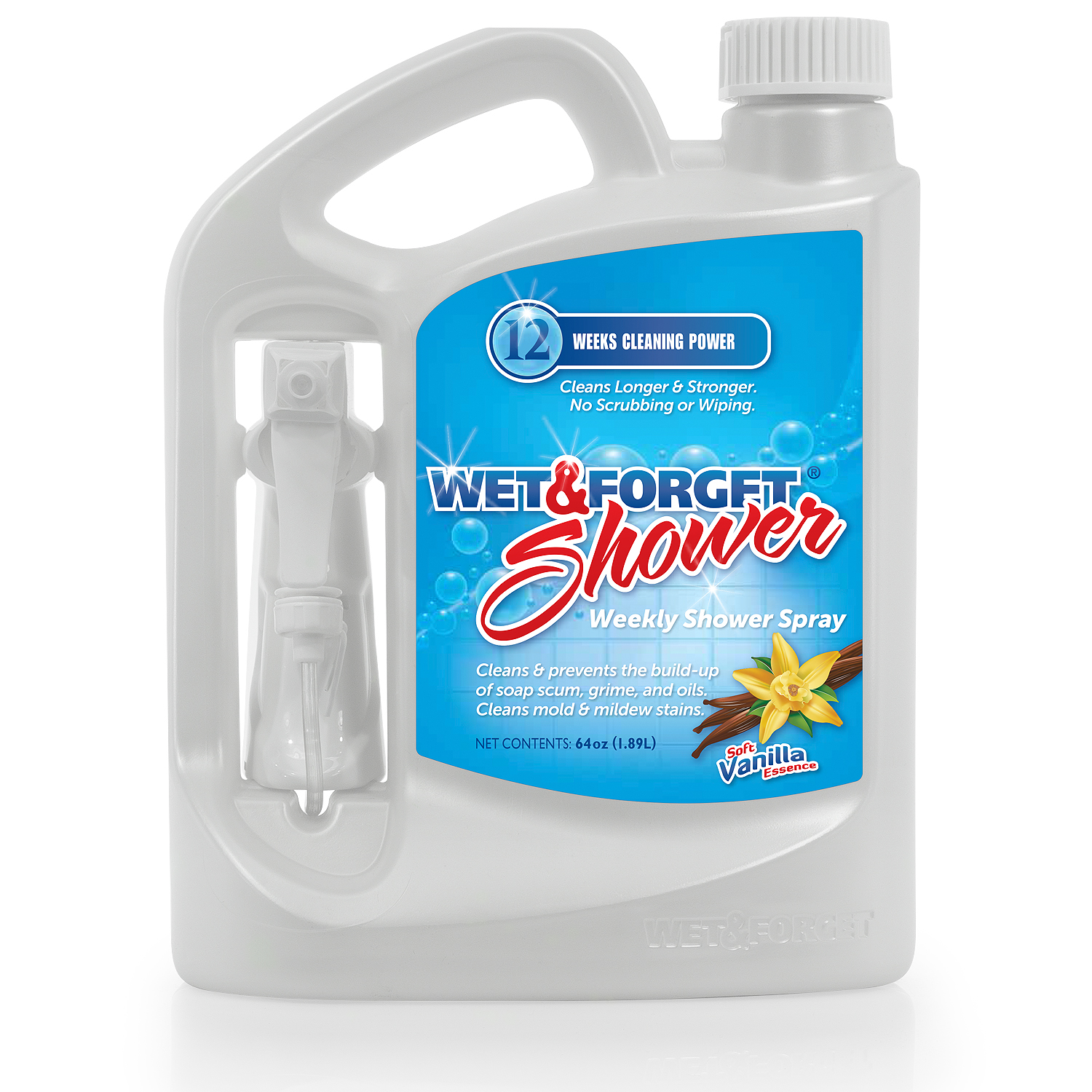 Wet and Forget Weekly Shower Cleaner, 64 Fl Oz - Walmart.com