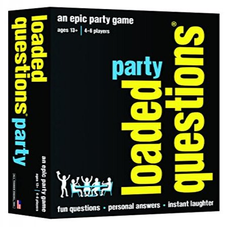 LOADED QUESTIONS PARTY- An Epic Party Game of Fun Questions, Personal Answers and Instant Laughter - Fun School Halloween Party Games