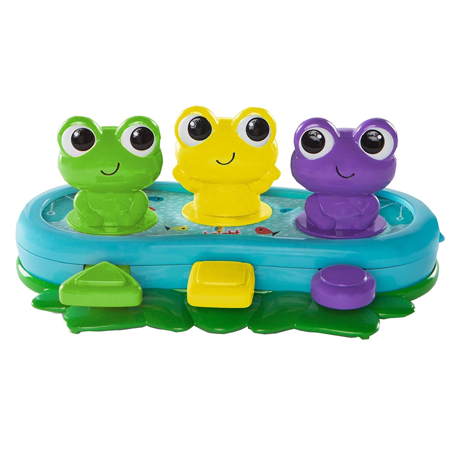 Bop & Giggle Frogs Toys, Press the paddles to watch the frogs bounce and wiggle By Bright... by