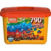 Mega Construx Large Core Tub, Multi-Colored with 790-Pieces