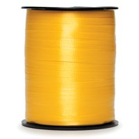 3/16 inch Curling Ribbon: Gold, 500 Yards