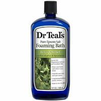 Dr Teals Pure Epsom Salt, Relax - Relief with Eucalyptus - Spearmint 34 oz 4pk
