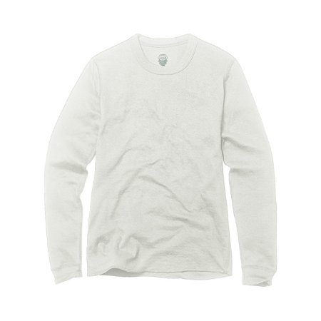 Duofold by Unisex® Youth Mid Weight Long Sleeve Thermal Crew, Winter White - (Winter Weight Thermal)