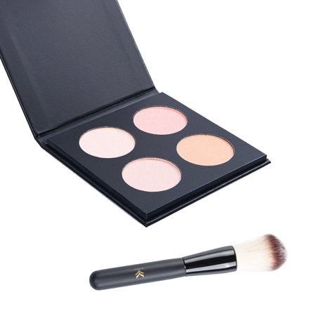 Pretty See High Light Palette Pro Highlighter Makeup Kit with Brush](Pretty Cat Makeup For Halloween)
